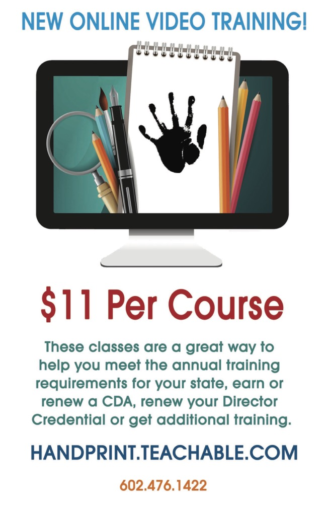 Handprint online Training Flyer